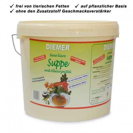 Suppe und Kräuter-Würzmittel ohne Glutamat, 10 kg