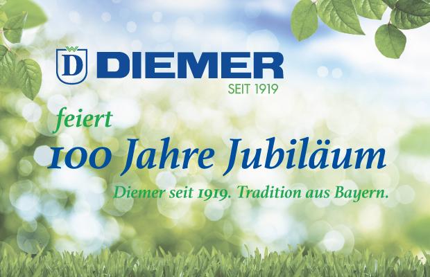 100 Jahre Diemer - Tradition aus Bayern seit 1919