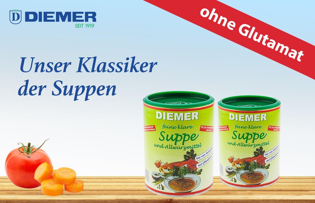 Unser Klassiker - Suppe ohne Glutamat
